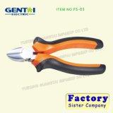 Pinces minces électriques de coupeur de lame d'acier inoxydable de coupeur Sideling
