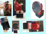 ケーブルなしでLEDの球根の屋外の省エネランプに警告する安全点滅の赤外線道