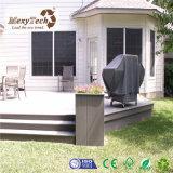Decking composé imperméable à l'eau extérieur du type chinois WPC pour le jardin