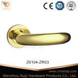 Verni de style classique européen porte sur la poignée du levier d'Or Rose (Z6028-ZR05)