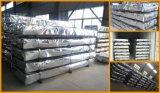 Telha de telhado ondulada revestida do Galvalume das chapas de aço do zinco de alumínio