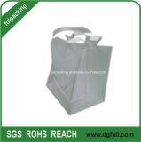 Sacchetto di acquisto molle di plastica della maniglia del ciclo con il sacchetto della maniglia personalizzato sacchetto del regalo di Boardcard