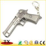Metal moderno Glock Revolver a Pistola Chaveiro para pistola Modelo Militar Titular da Chave