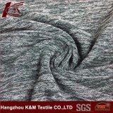 Commerce de gros Tricot respirant Strong s'étirer le tissu de polyester cationiques