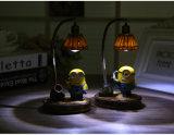 熱い販売の子分夜ランプ学生のベッドわきのスタンドの樹脂プロセスギフトの考えのホーム供給