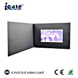 최고 가격 및 가장 새로운 디자인을%s 가진 인사장 6 인치 LCD 영상 Buiness 카드