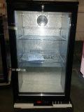 Único refrigerador da parte superior de tabela da barra da parte traseira de porta/refrigerador da leiteria/refrigerador da barra