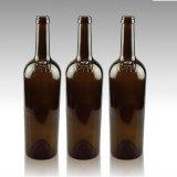 卸し売り750ml平底のボルドーのガラスワイン・ボトル