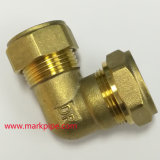 cotovelo apropriado de bronze da tubulação de cobre de 15mm