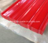 新型長い切妻屋根物質的な波形PPGI/PPGLの鉄の屋根ふき