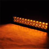 수리용 부품시장 차 부 13.5 인치 72W 4X4 크리 사람 LED 차 빛은 도로 아치에 의하여 구부려진 자동 LED 빛 떨어져 LED 표시등 막대를 구부렸다