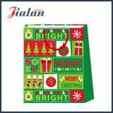 2018 Nouvelle conception de transporteur de magasinage de Noël papier sacs cadeaux