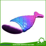 De kleurrijke Hete Borstel van de Make-up van de Stichting van de Vorm van de Vissen van de Verkoop Leuke
