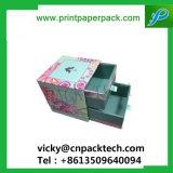 Custom Handmade deslizando el cajón de doble caja de regalo Caja de cartón reciclable.