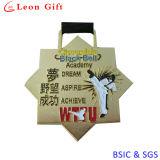 Medaglione dell'oro dello smalto per il regalo del ricordo (LM1253)