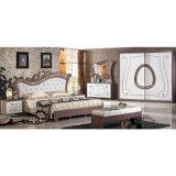 Re Bed della camera da letto per la mobilia classica della camera da letto impostata (6602)