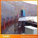 Réservoir automatique latéral simple à l'intérieur de machine de soudure continue de périmètre pour la construction longitudinale