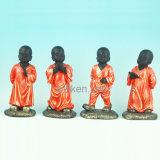 新しい昇進の高品質のカスタム修道士の樹脂の置物のPolyresinの彫像