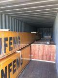 物品取扱いの二重ガードのレール敷のガントリークレーン