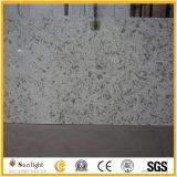 Beige/Yellow artificiais Quartz Stone para a bancada de Kitchen