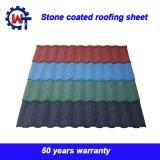 Стандартный размер торговой марки Wante камня покрытием оцинкованные железные крыши