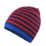 冬の帽子によって編まれる帽子のジャカード帽子の帽子POM POMの帽子の帽子
