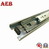 Glissières instantanées automatiques de tiroir de prolonge de matériel de bureau de tiroir triple électrique de glissière