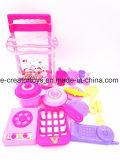 Küchenbedarf-Tafelgeschirr-Nahrungsmittelset Mädchen-Haushalts-Spielwaren