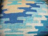 新しい青緑の紫色の擬似麻布によってカスタマイズされる綿の正方形の長方形猫の犬小屋ペットベッド