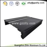 Het anode Profiel van de Uitdrijving van het Aluminium van de Oxydatie Zwarte van AutoDelen