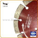 134mm Outils de matériel d'utilisation à sec Disque de coupe Hot-Pressed diamant rouge de lame de scie