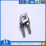 Clips malléables de calage de câble métallique