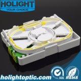 Boîte à bornes à l'intérieur de fibre pour projet FTTH