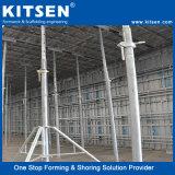 Verter monolítico único panel de la columna de aluminio de encofrado de hormigón de alta