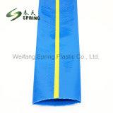 Flexíveis de PVC de alta pressão água para irrigação da mangueira plana leigos