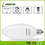 E12 E14 3W Bombilla de luz de velas LED Lámpara