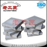 Forro da telha do carboneto cimentado do tungstênio para o funil de carvão