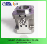 Aço inoxidável CNC parte branqueado de metal de Usinagem de peças de alta precisão