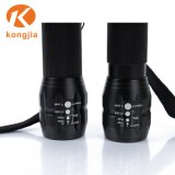 Lampe de poche Pocket léger en aluminium réglable de minuscules Zoomable mini torche