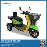Bici elettrica adulta del motorino del triciclo di Trikes delle 3 rotelle con la baracca e cestino per gli adulti