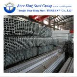 Kaltgewalztes vor galvanisiertes geschweißtes quadratisches/rechteckiges Stahlrohr/Gefäß/hohles Kapitel-Baumaterial Q195/Q235 ERW geschweißt