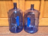 Semi-automatique de l'Étirement de la machine de moulage par soufflage en plastique pour bouteille de 5 gallons