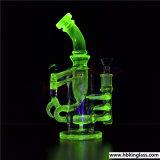 Het Roken van het Glas van het Booreiland van de Percolator van de Recycleermachine van de Fles van het Ontwerp van Hbking het Amerikaanse Art. van het Glas van de Waterpijp
