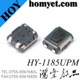4.0*3.0mm 4pin Interrupteur tactile CMS Tact l'interrupteur (HY-1185UPM)