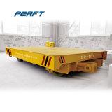 Transporte ferroviário de carga de fábrica Turnplate trailer do Carrinho