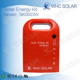 3W de alta calidad DC encargado de la energía solar el Kit de iluminación
