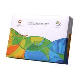 Hot Sale papier imprimé pièce de monnaie commémorative, d'emballage cadeau souvenir Emballage