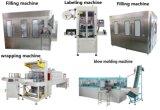 Автоматическая питьевой минеральной воды розлива наполнения упаковочная машина расширительного бачка