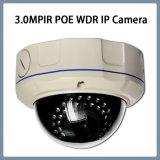 Macchina fotografica Vandal-Proof del IP dell'obiettivo di zoom della cupola 3.0MP WDR Poe