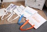 Пользовательские рекламные Canvas брелоки пакеты с логотипом трафаретной печати